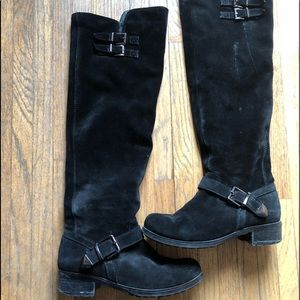 Shoes - Women's suede boots .